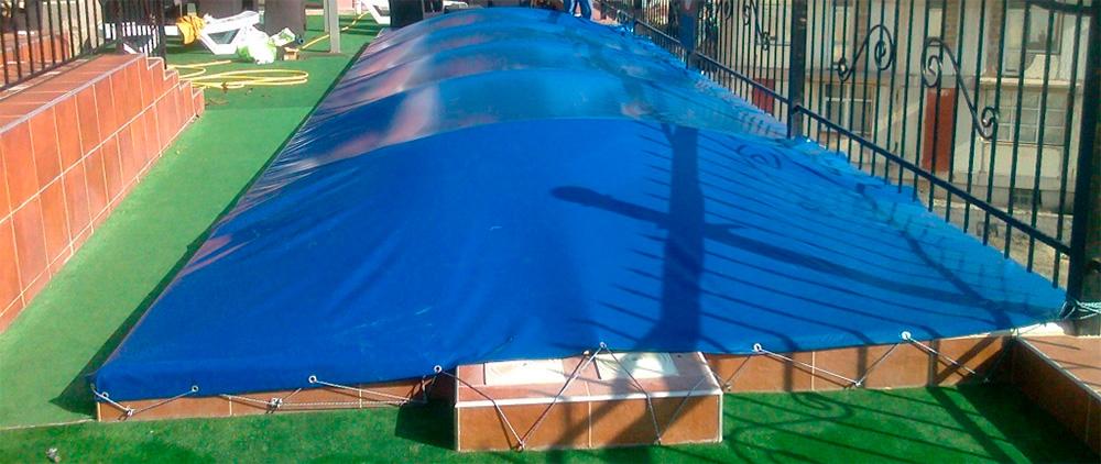 Тенти з ПВХ для басейну