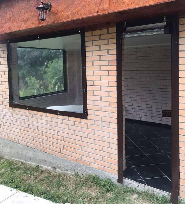 Мягкие окна и шторы из ПВХ
