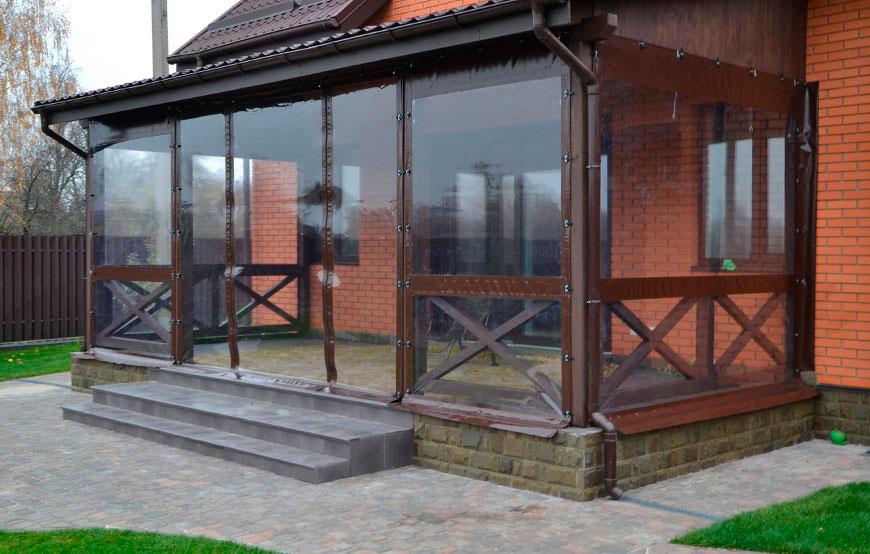 Прозрачные мягкие окна под заказ с доставкой по Украине