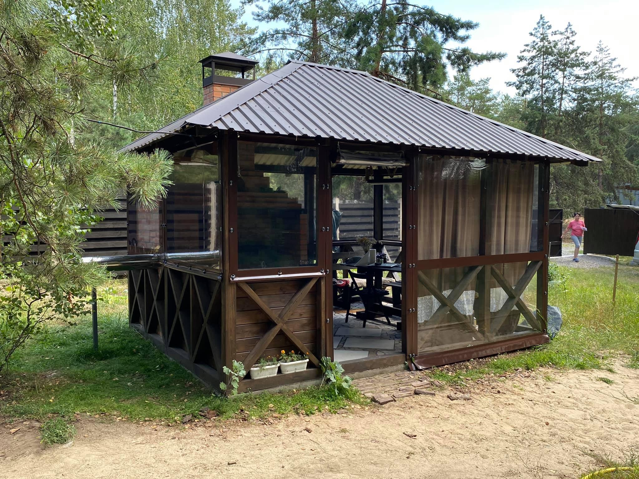 Мягкие окна в селе Пилява (Киевская область)