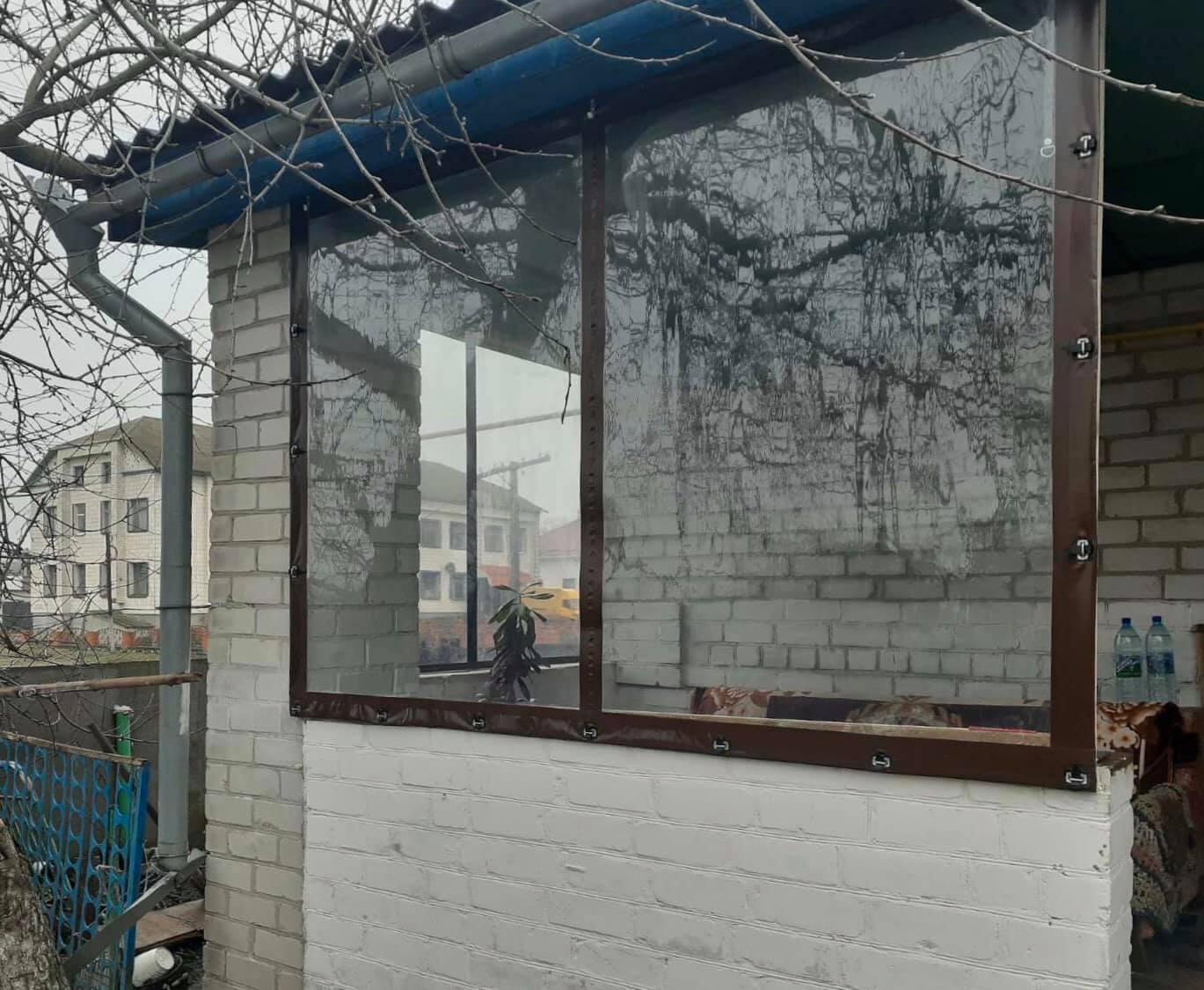 Мягкие окна для веранды в Бердянске