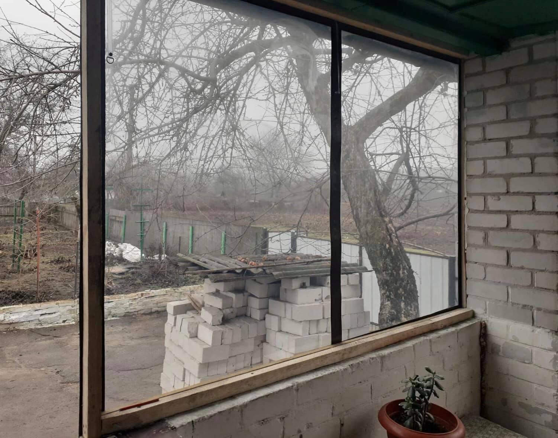 Пленочные окна для веранды в Бердянске