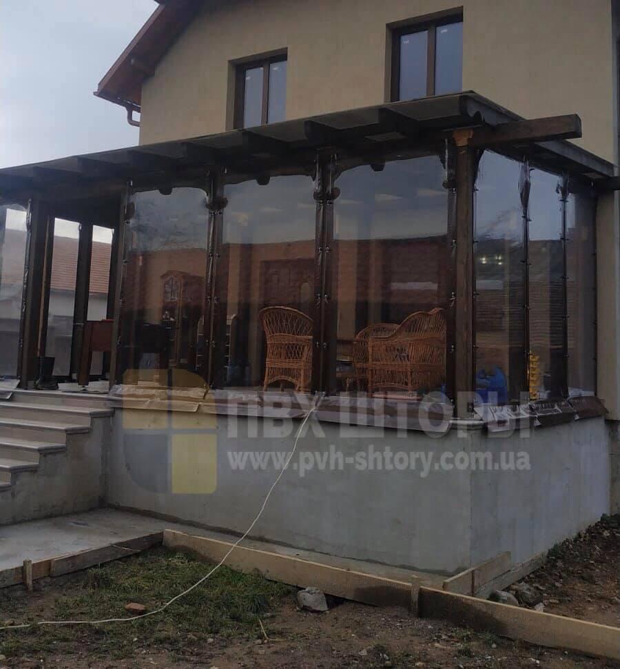 Брезентовые окна для веранды в Токмаке