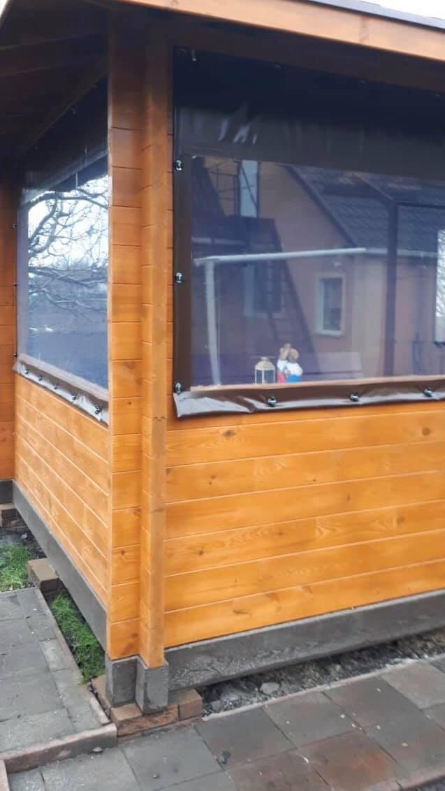 Жидкие окна для беседки в Энергодаре