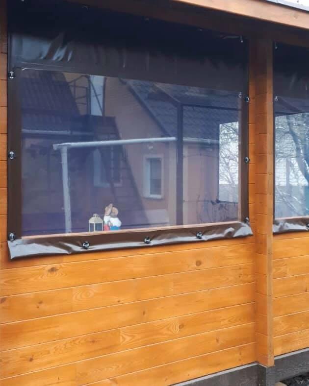 Гибкие окна для беседки в Энергодаре