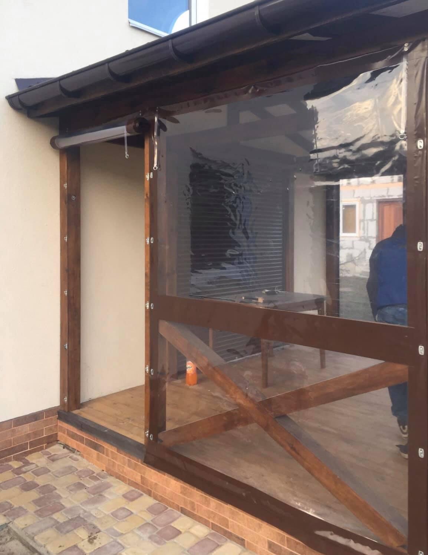 Гибкие окна для веранды в Днепрорудном