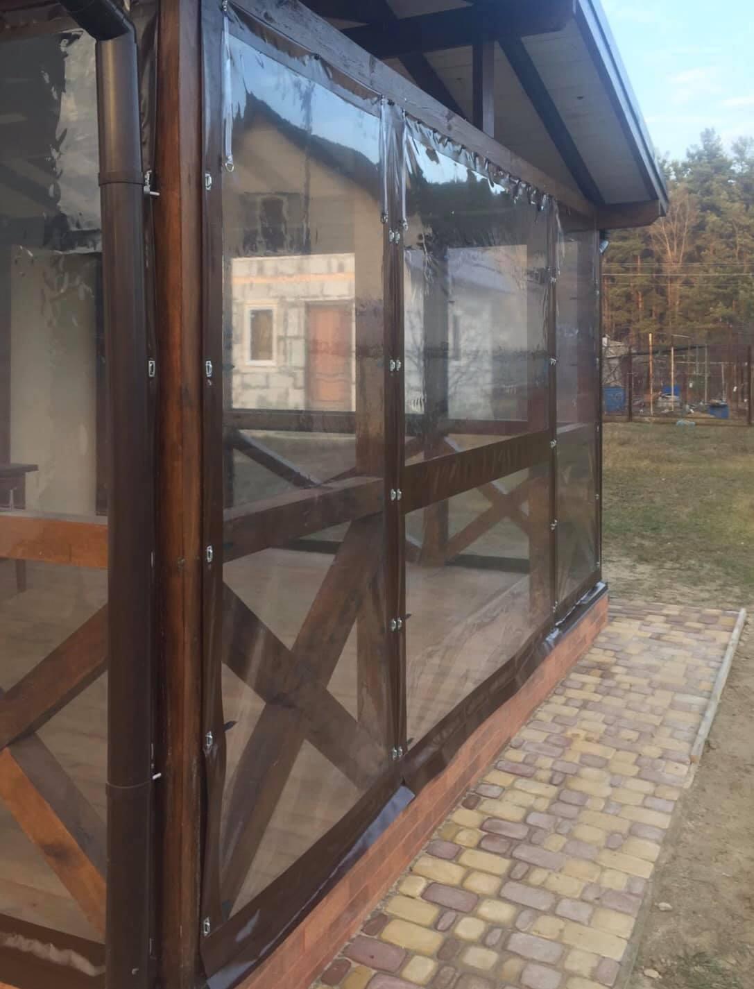 ПВХ шторы для веранды в Днепрорудном