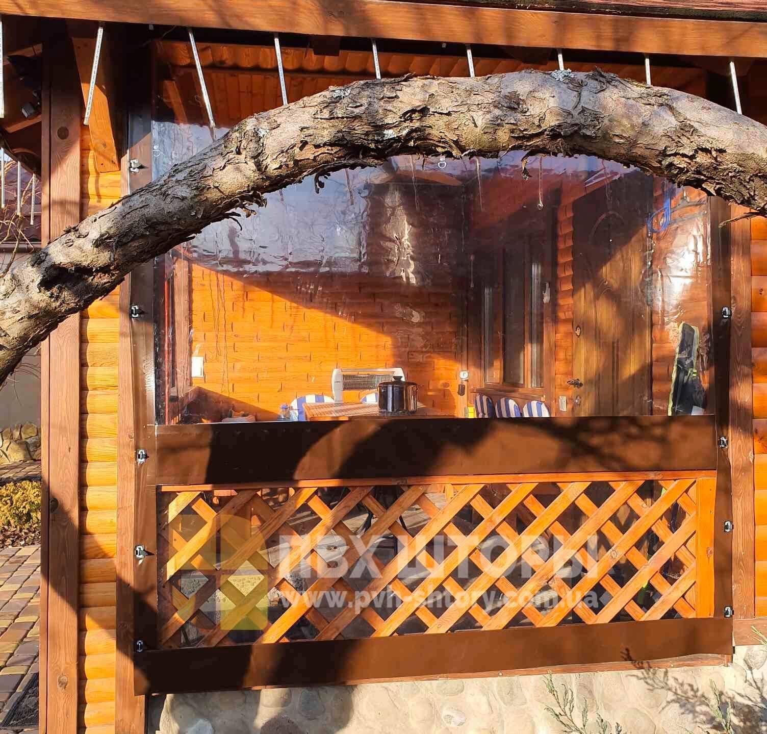 ПВХ шторы для веранды в Вольнянске