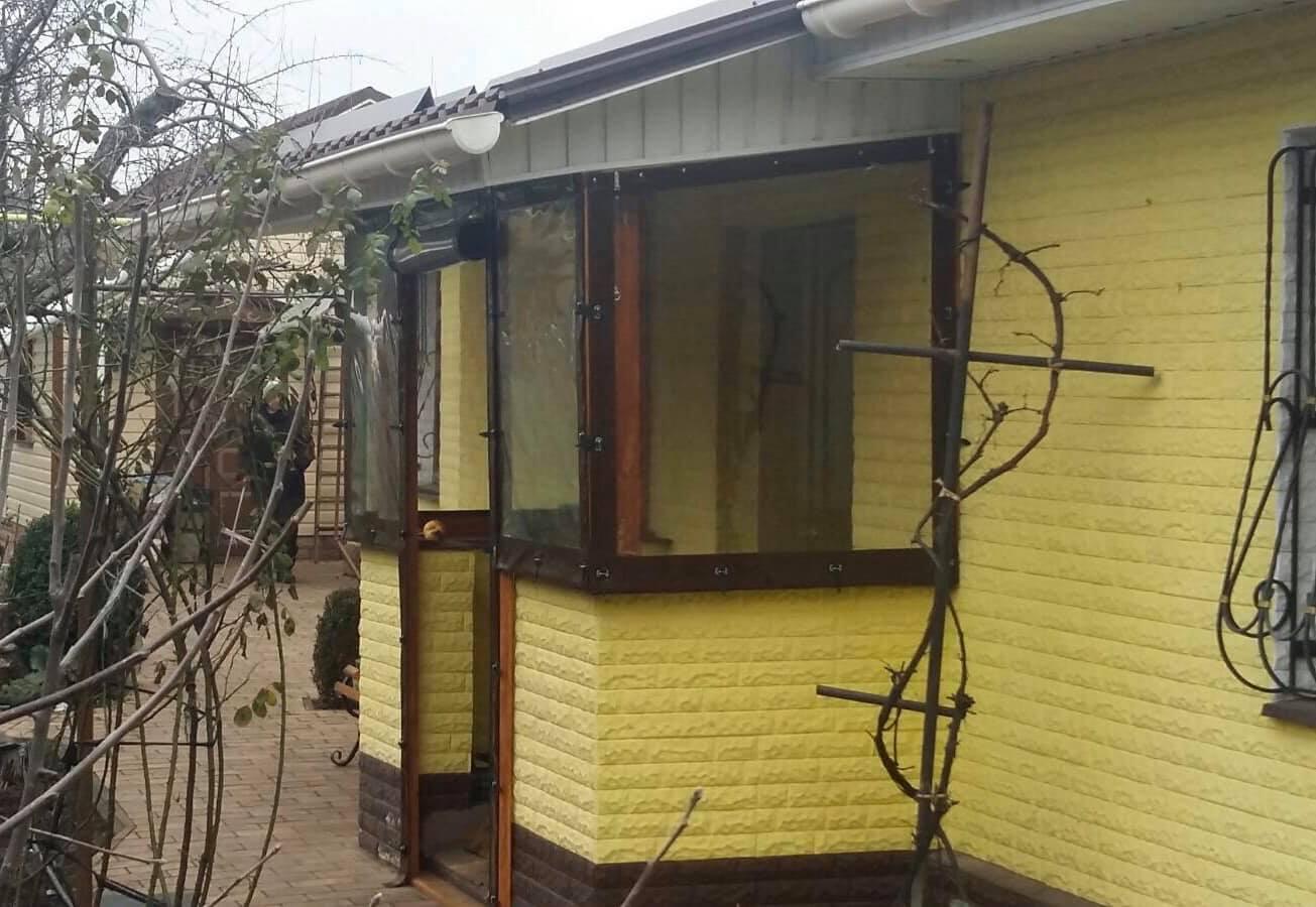 Гибкие окна для веранды в Васильевке