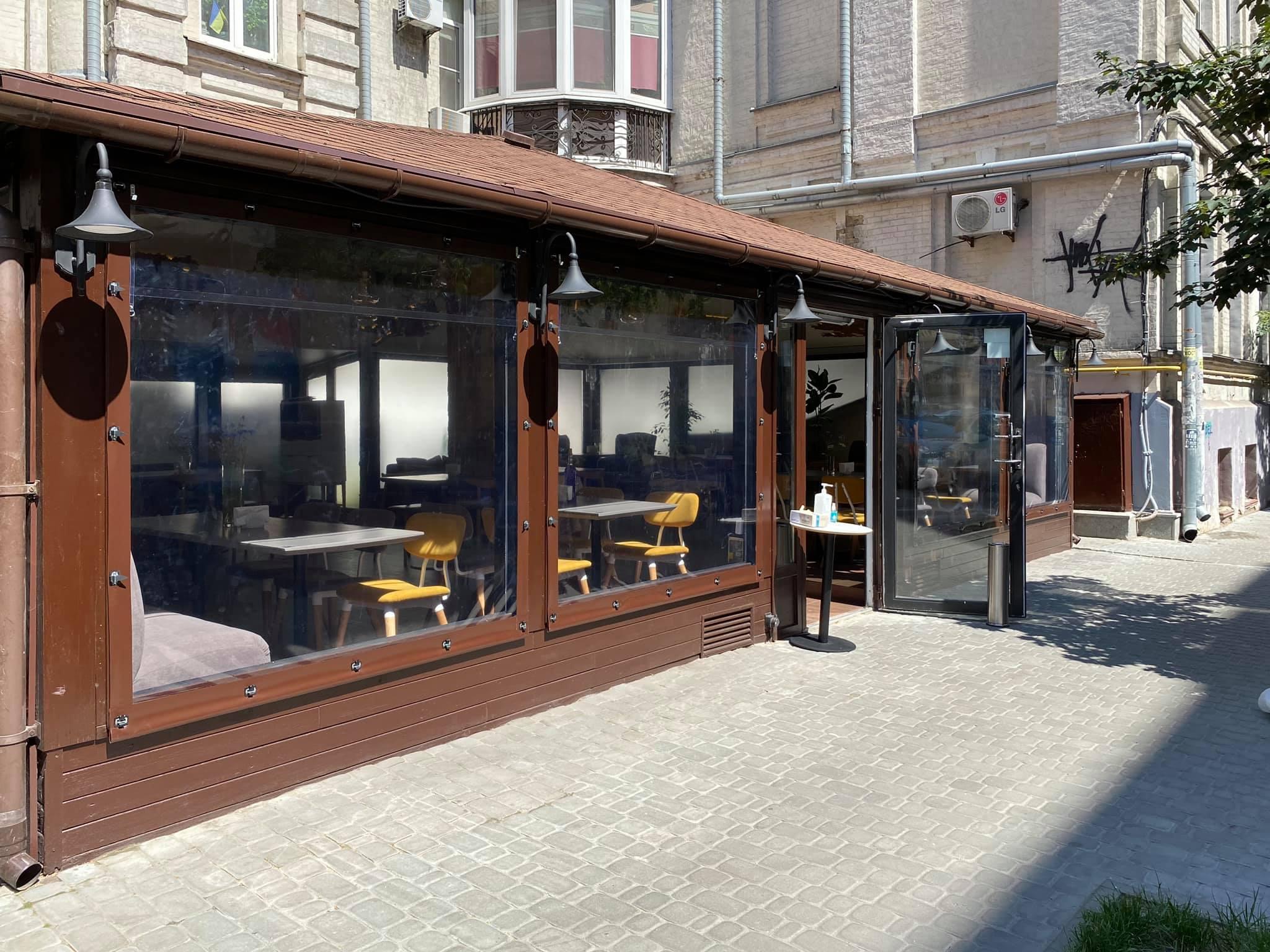 Мягкие окна для ресторана FAIR PLAY