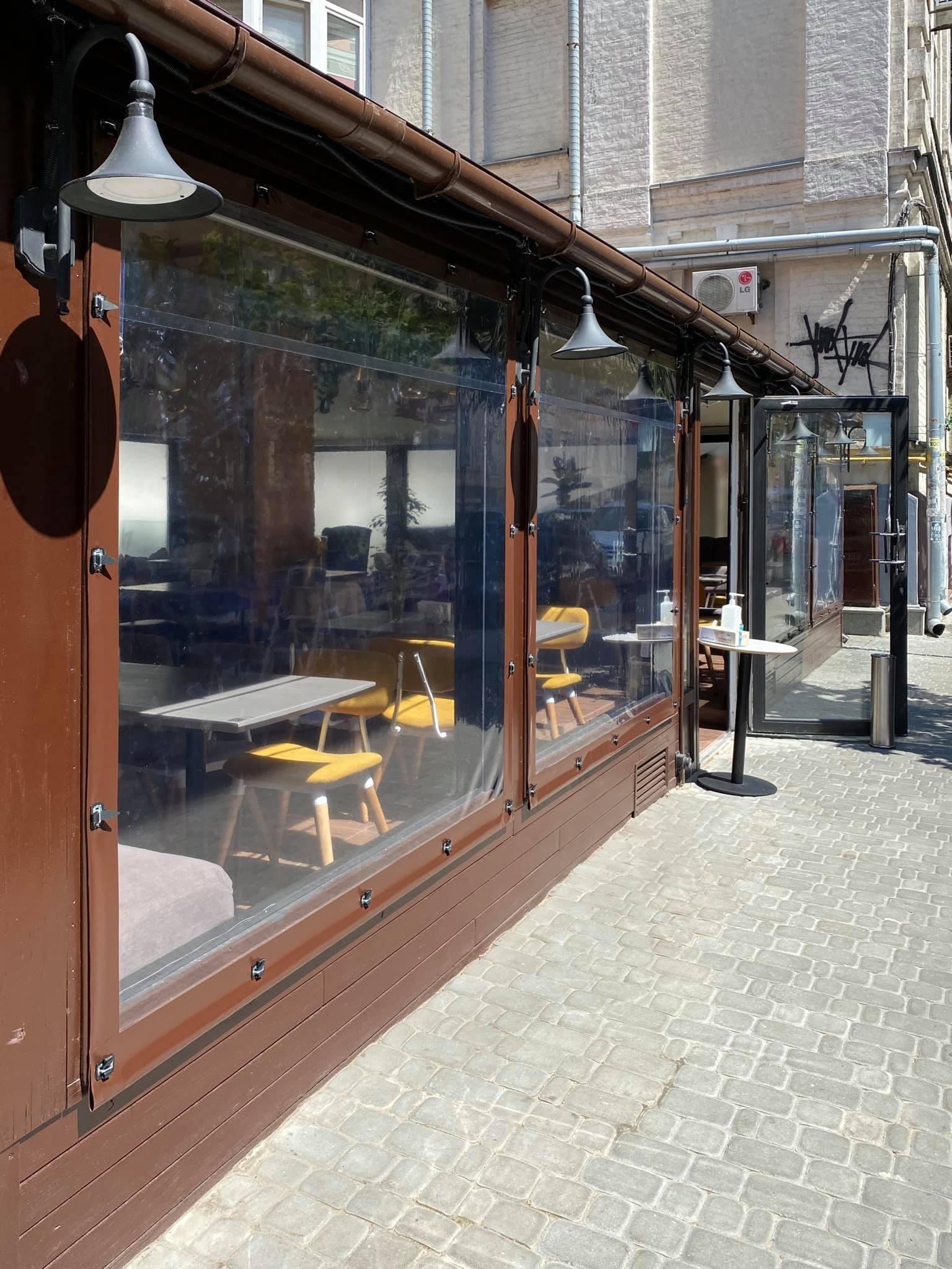Гибкие окна для ресторана FAIR PLAY