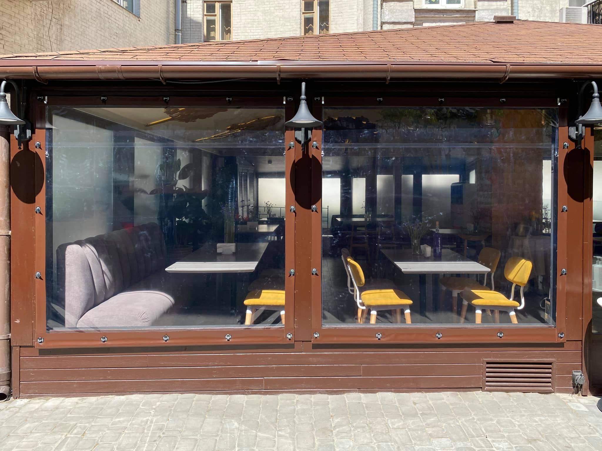 ПВХ шторы для ресторана FAIR PLAY