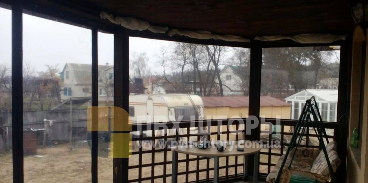 Гибкие окна для веранды в Краснограде