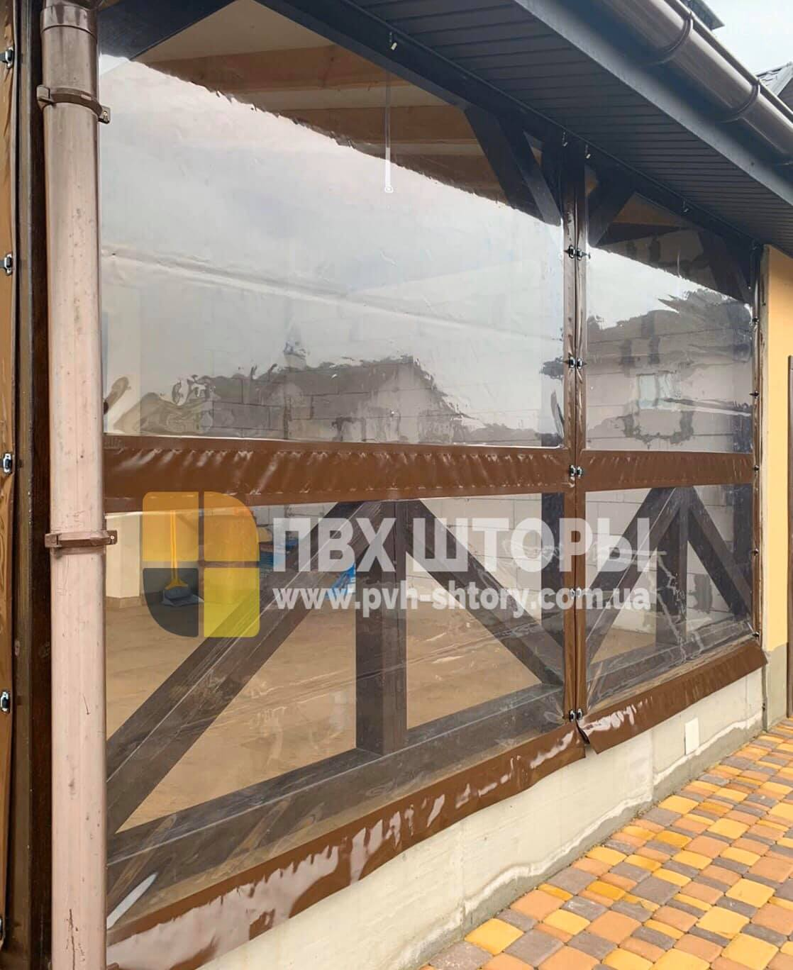 ПВХ шторы для веранды в Дергачах