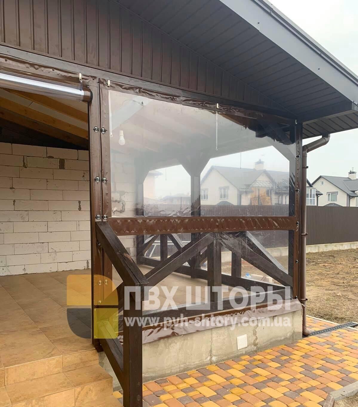 Пленочные окна для веранды в Дергачах