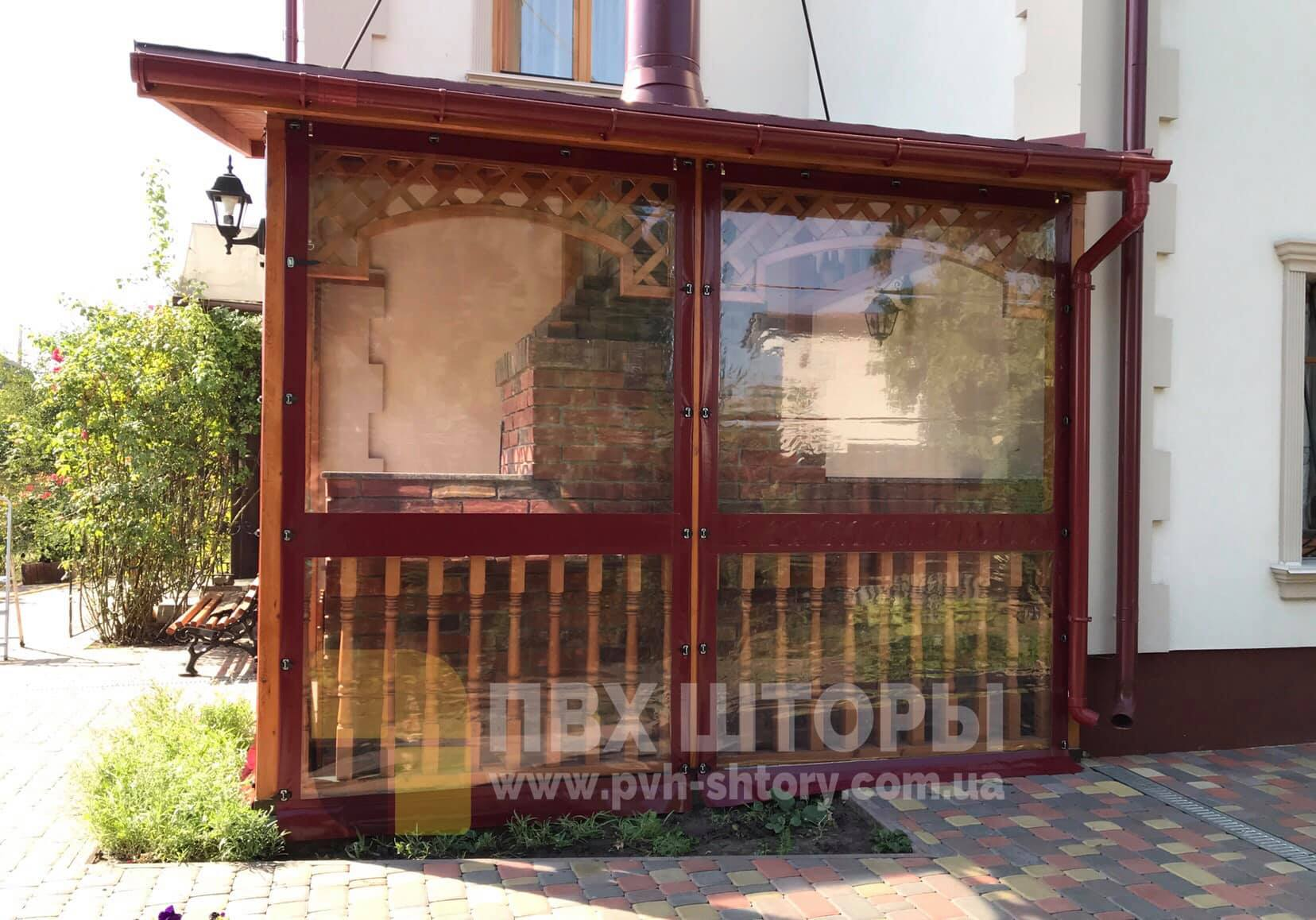 Гибкие окна для веранды в Теплодаре