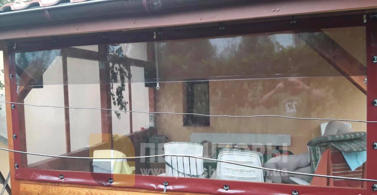Пленочные окна для беседки в Кодыме