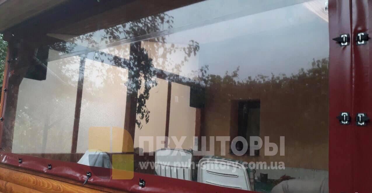 Гибкие окна для беседки в Кодыме