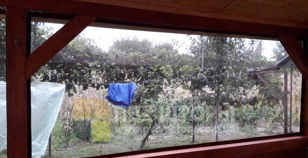 Брезентовые окна для беседки в Кодыме