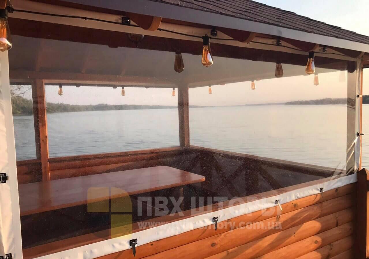 Пленочные окна для беседки в Ананьеве