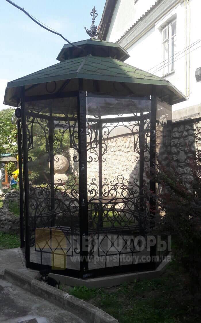 ПВХ шторы для беседки в Вилково