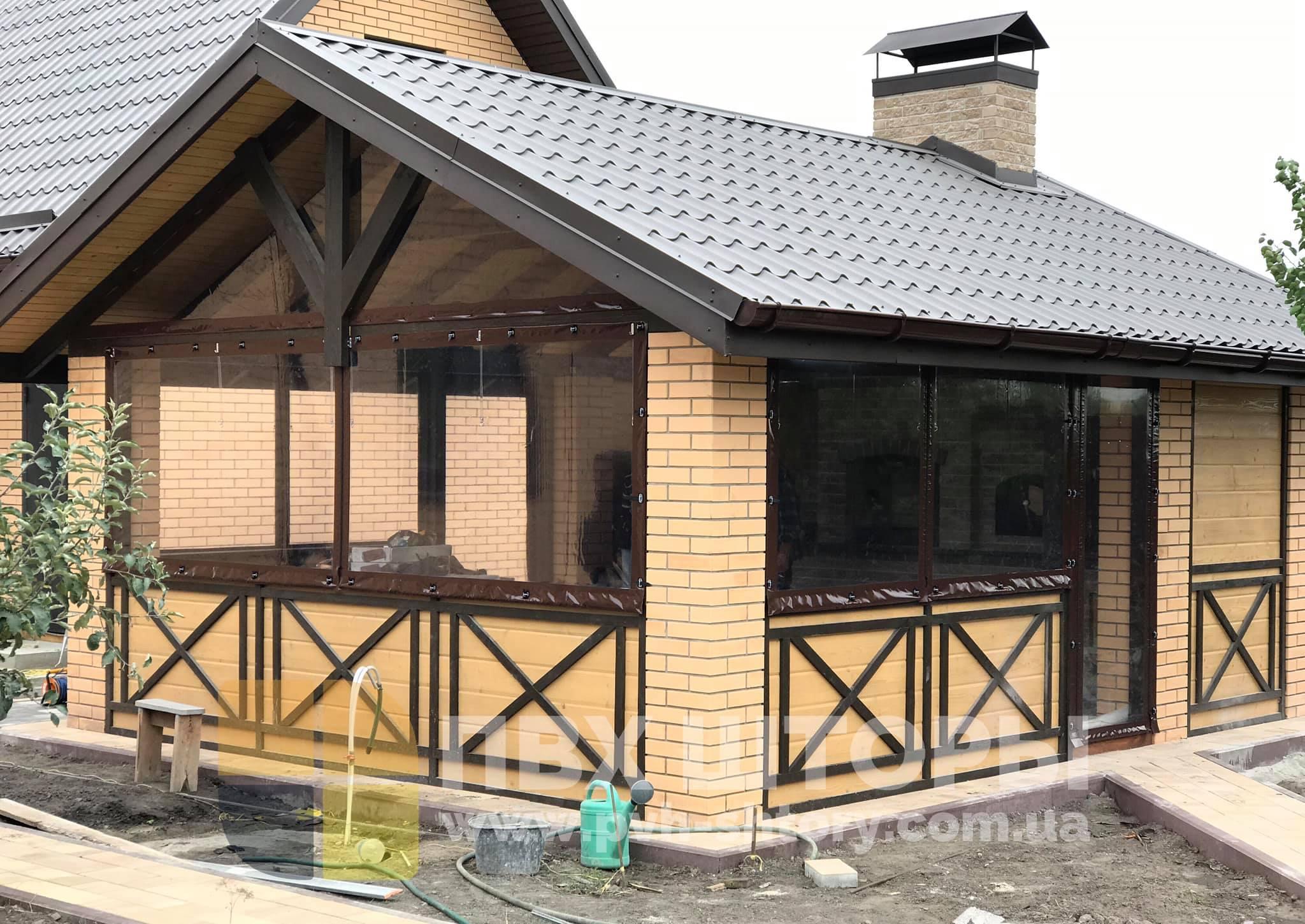 ПВХ шторы для беседки в Вознесенске