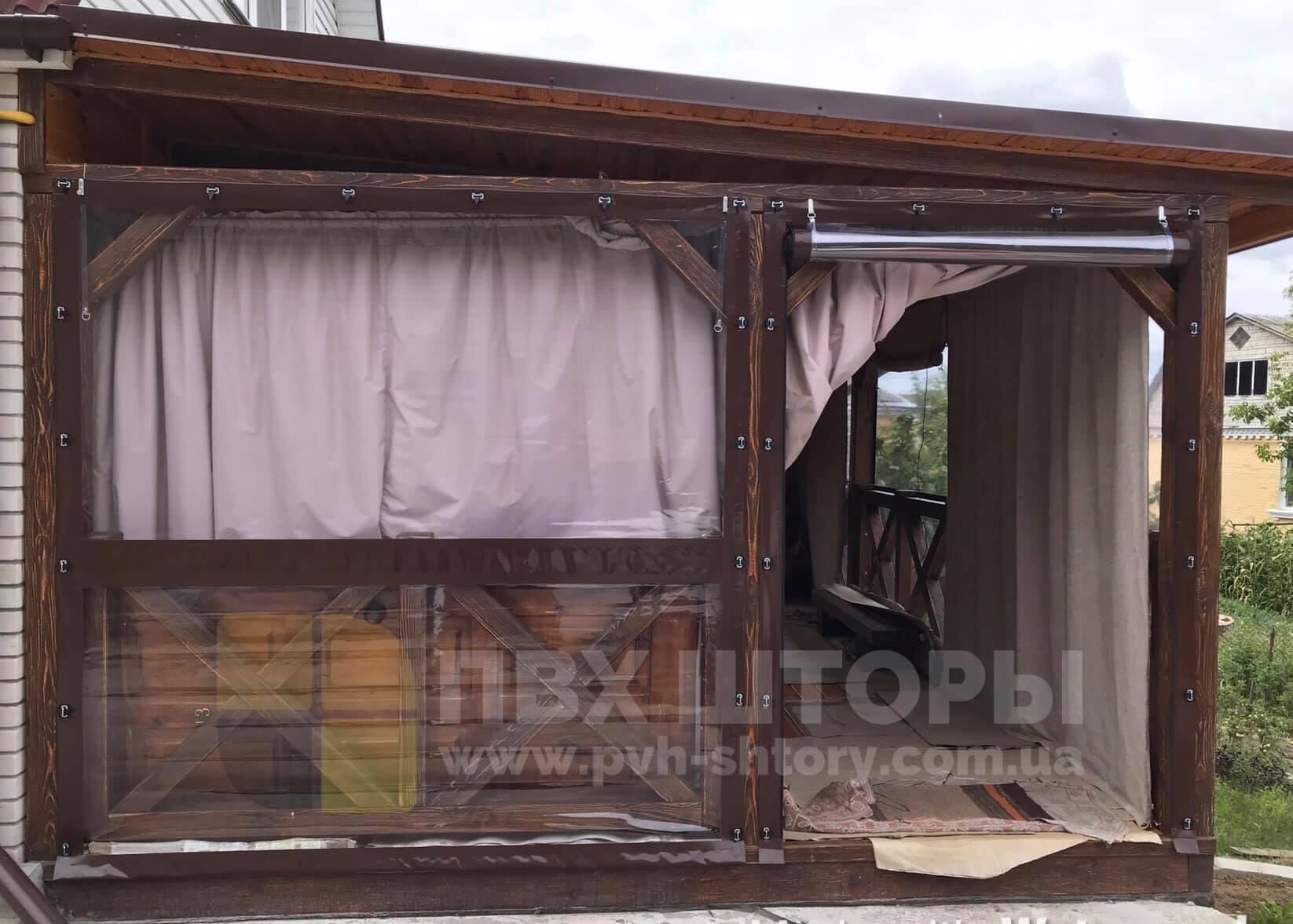 Гибкие окна для веранды в Баштанке