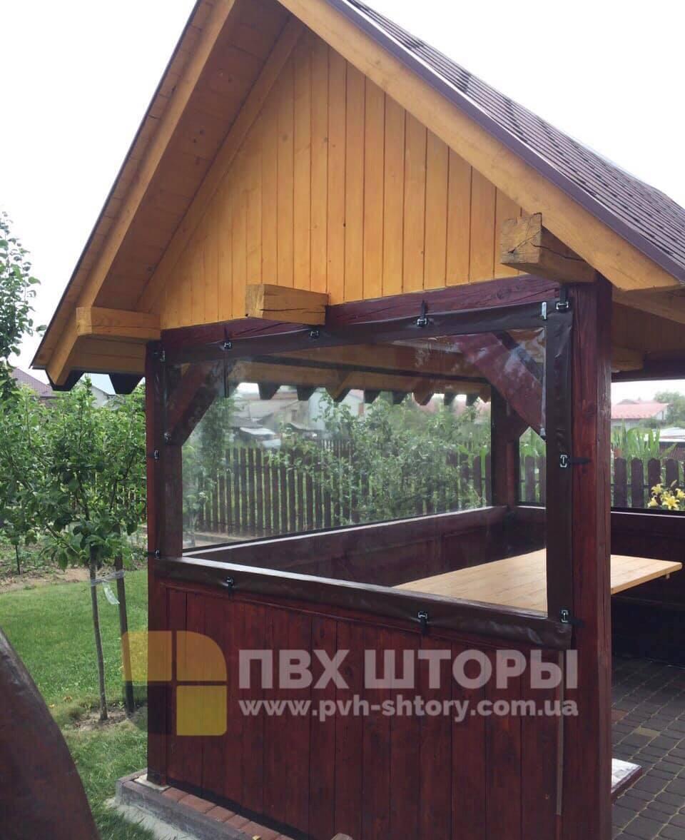 Брезентовые окна для беседки в Геническе