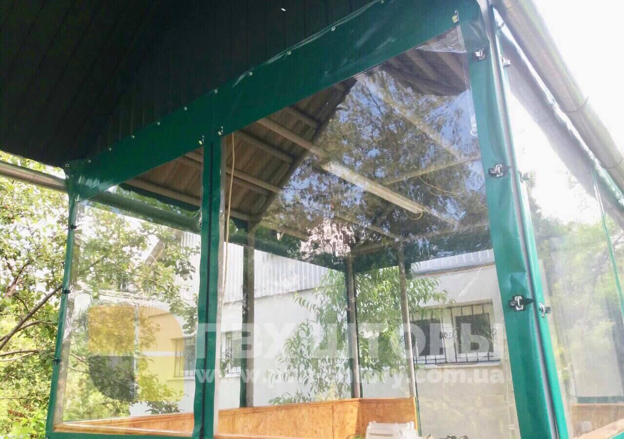 ПВХ шторы для беседки в Голой Пристани