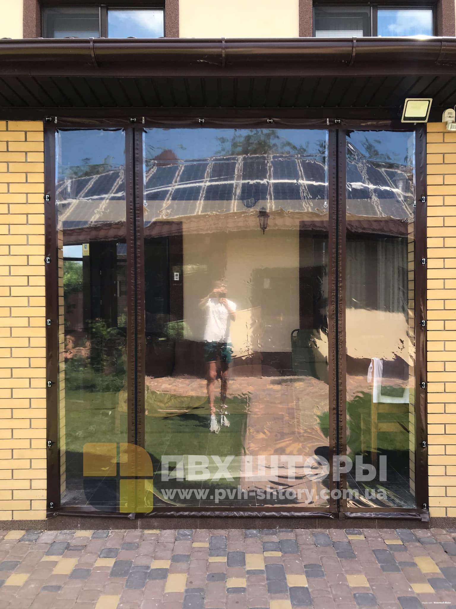 Пленочные окна для веранды в Таврийске