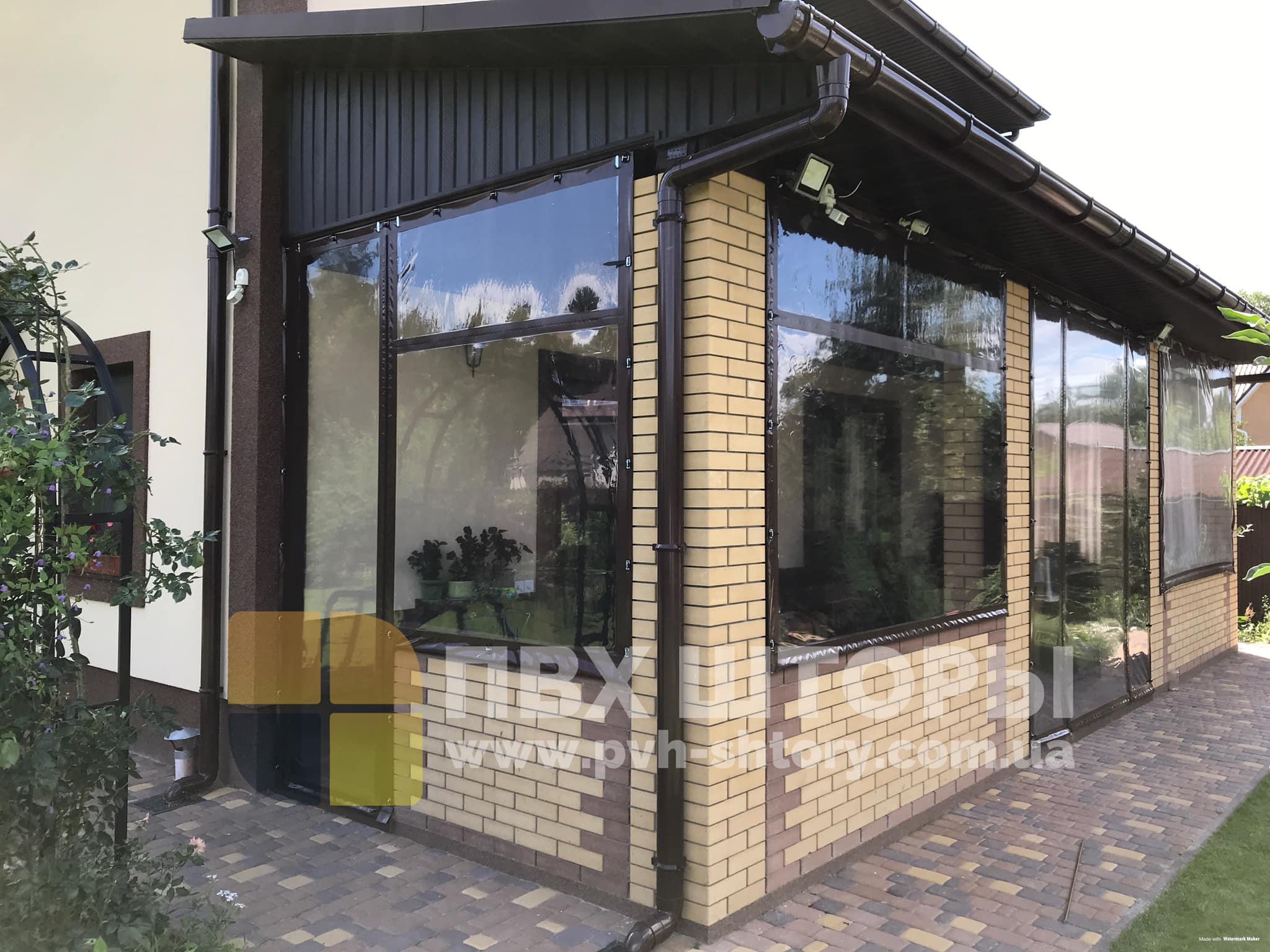 ПВХ шторы для веранды в Таврийске