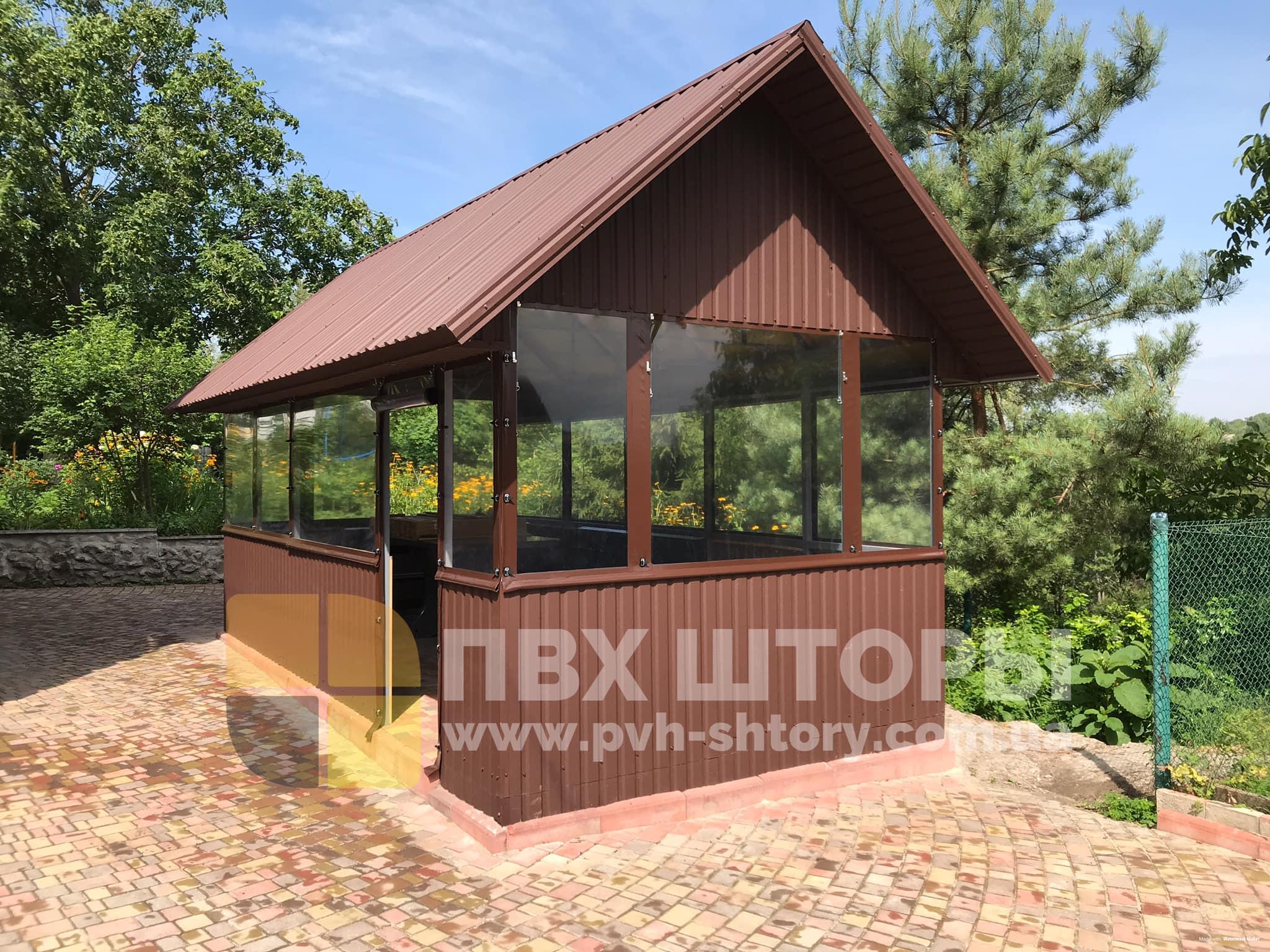 ПВХ шторы для беседки в Дрогобыче