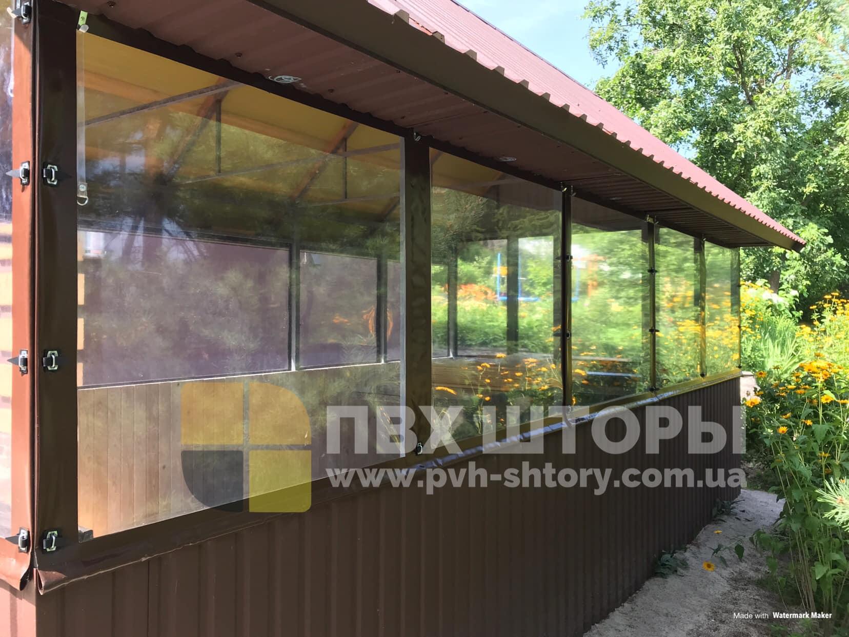 Брезентовые окна для беседки в Дрогобыче