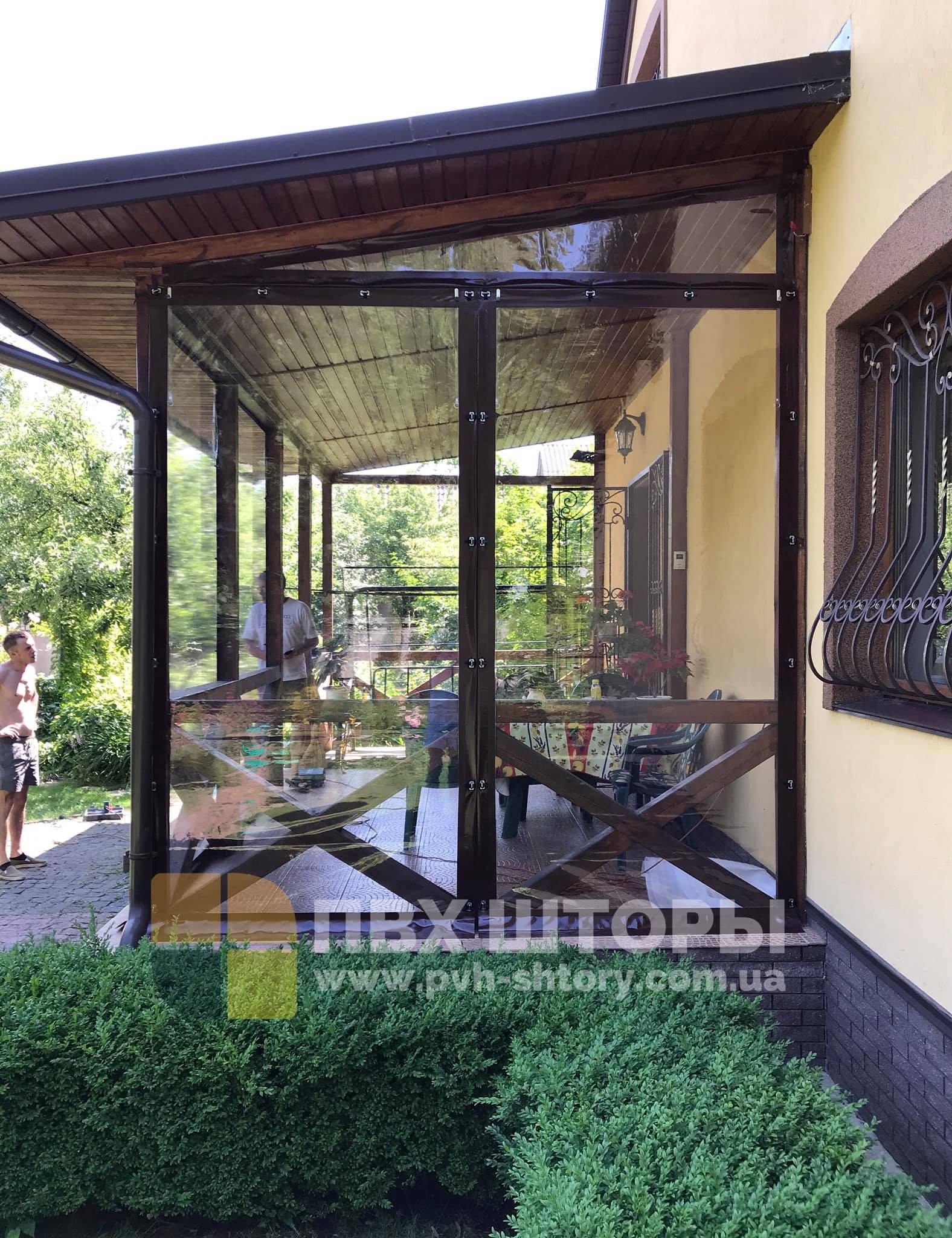 ПВХ шторы для веранды в Бориславе