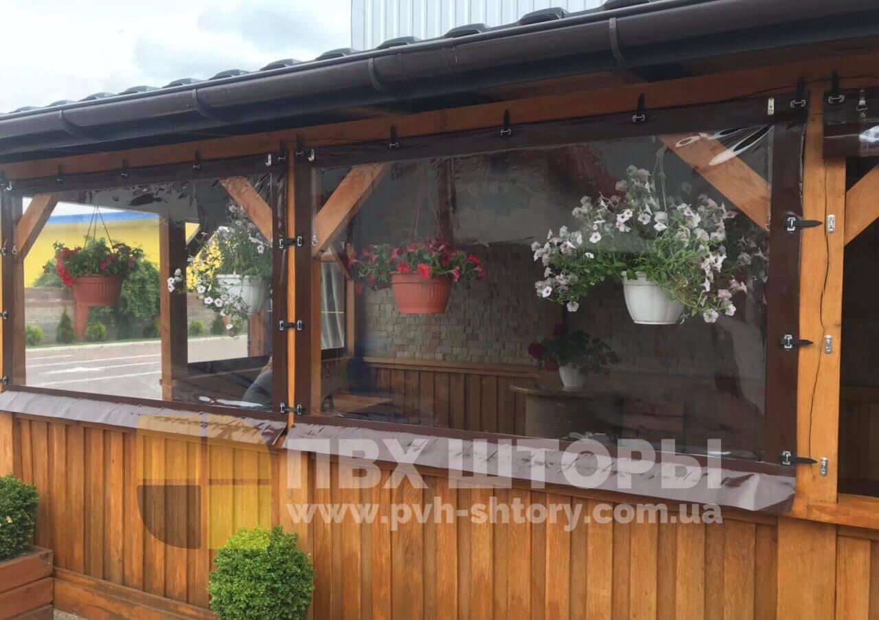Гибкие окна для веранды в Бродах