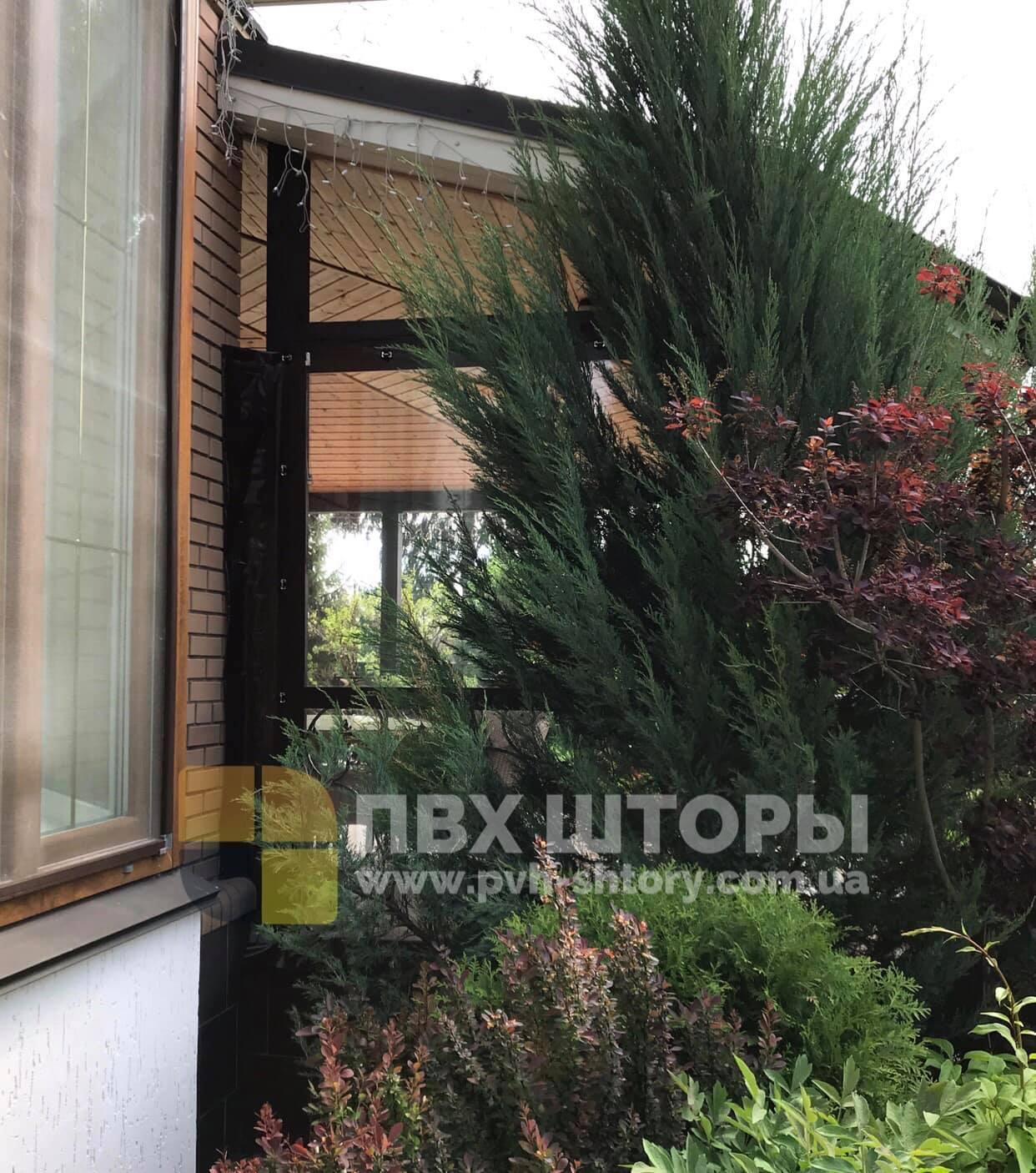 ПВХ шторы для веранды в Винниках