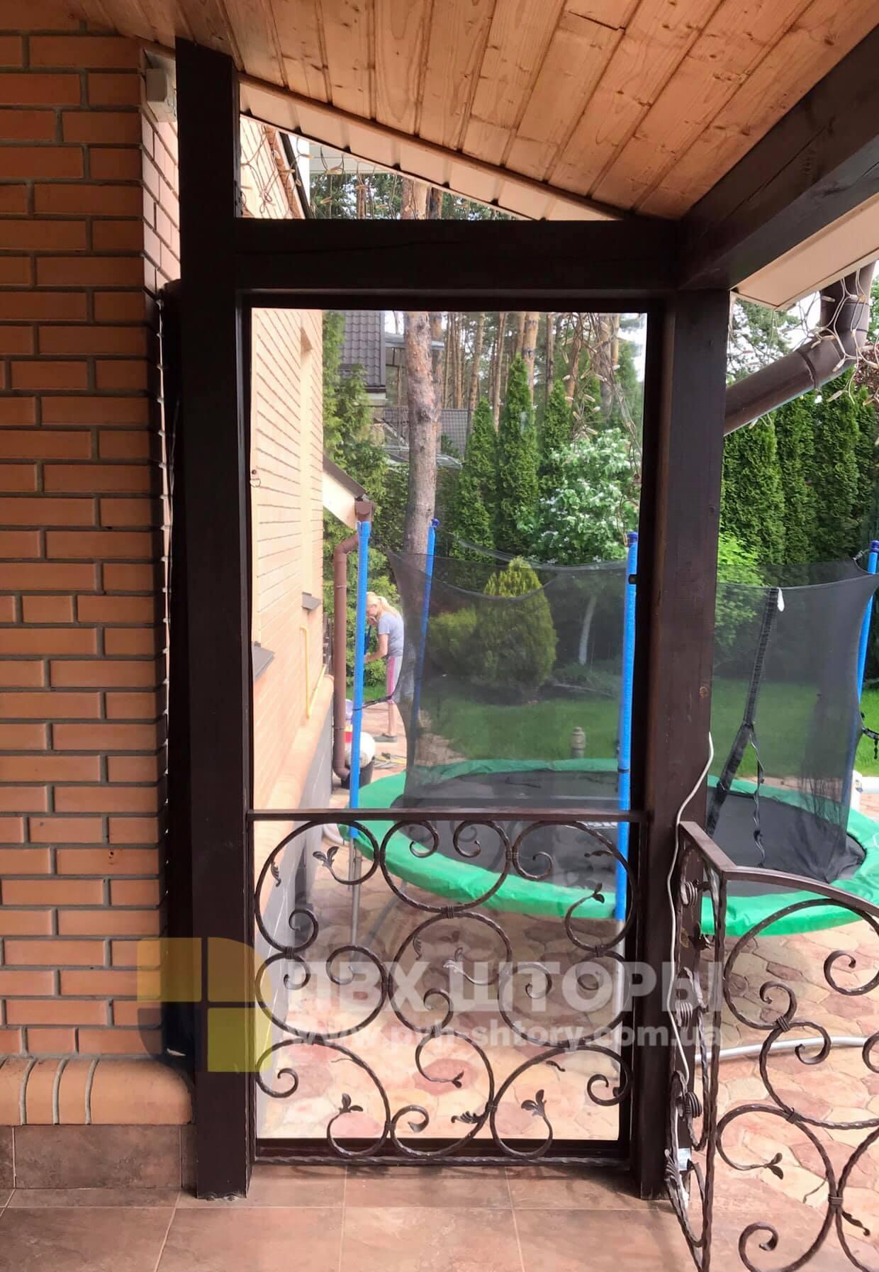 Жидкие окна для веранды в Винниках