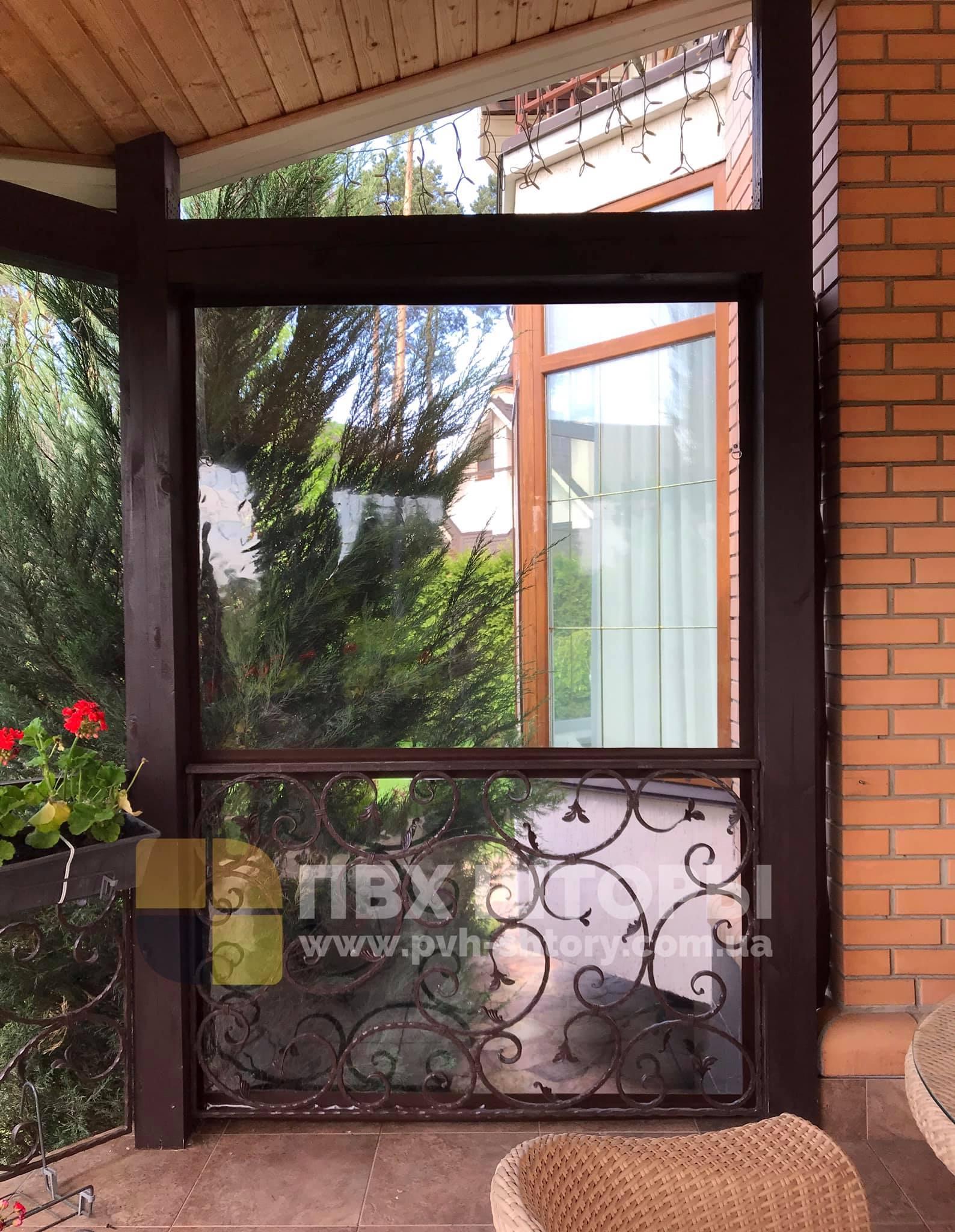 Пленочные окна для веранды в Винниках