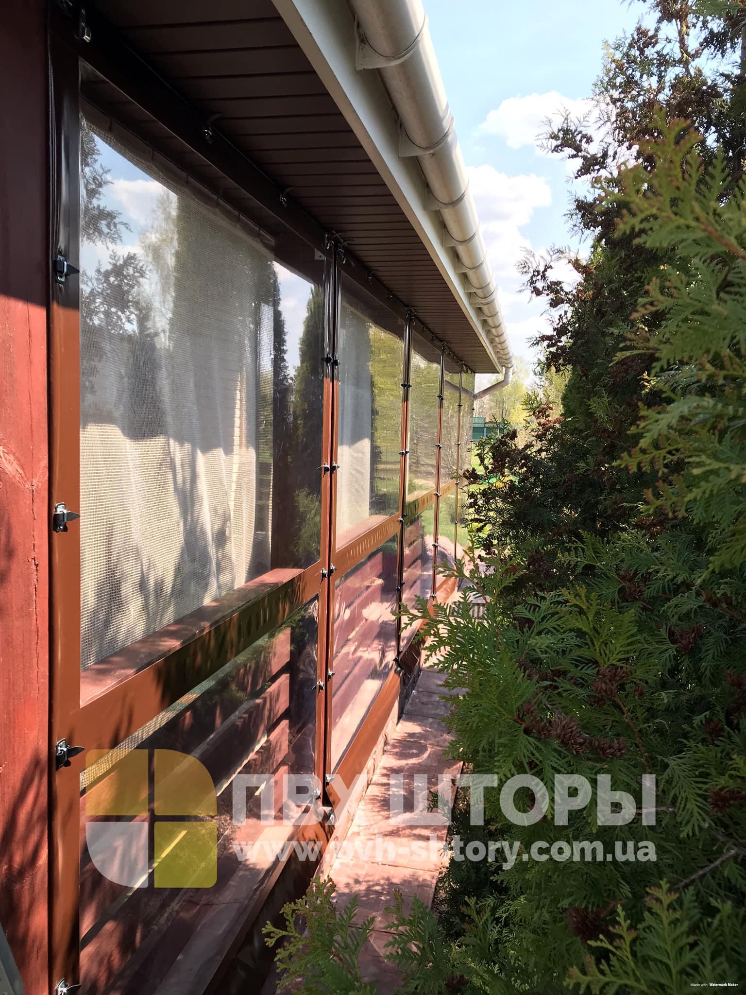 Гибкие окна для веранды в Жолкве