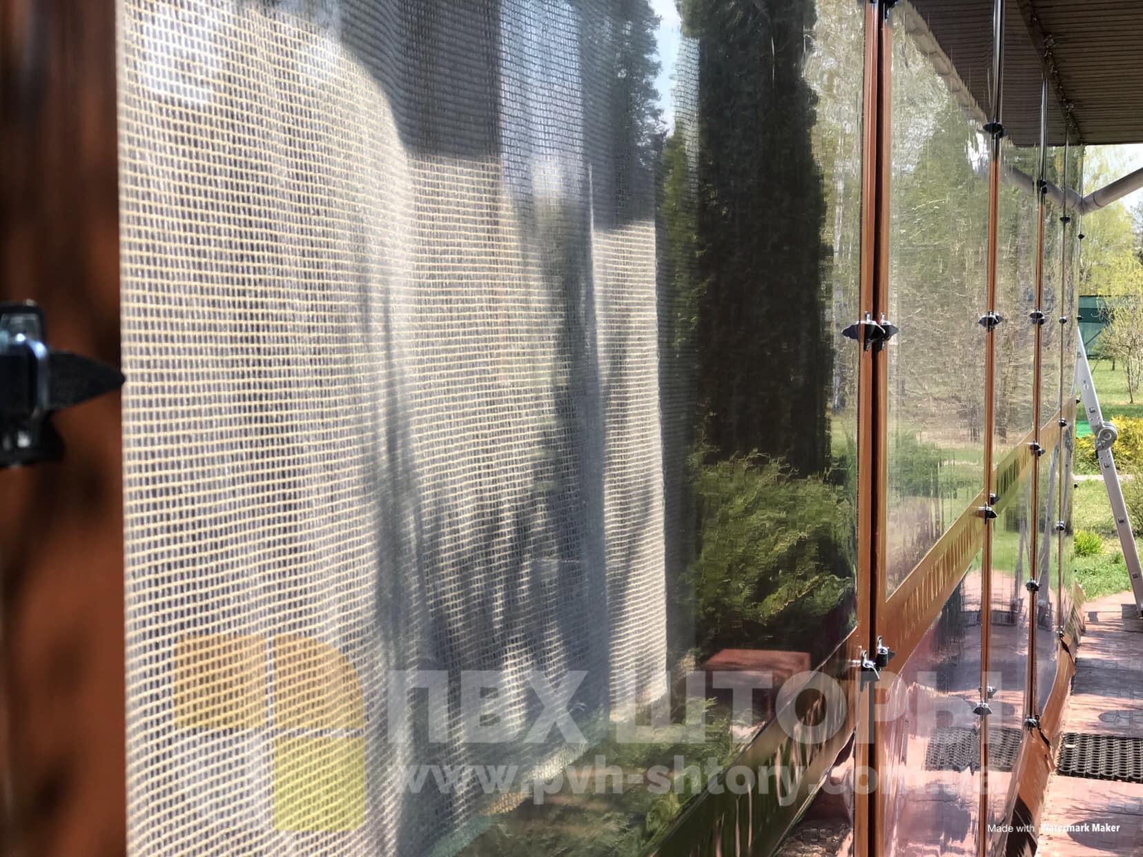 Пленочные окна для веранды в Жолкве