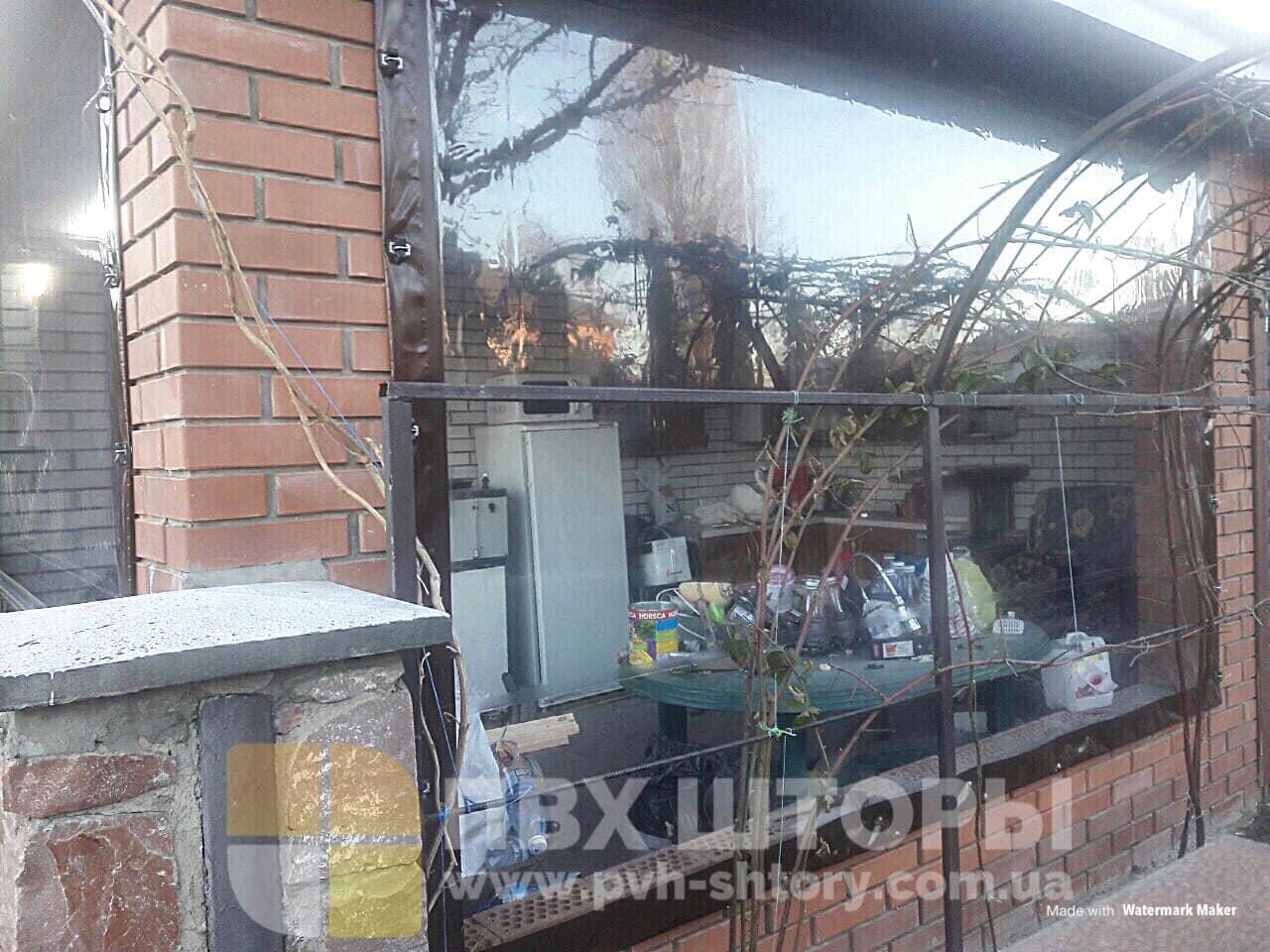 Пленочные окна для веранды в Сосновке