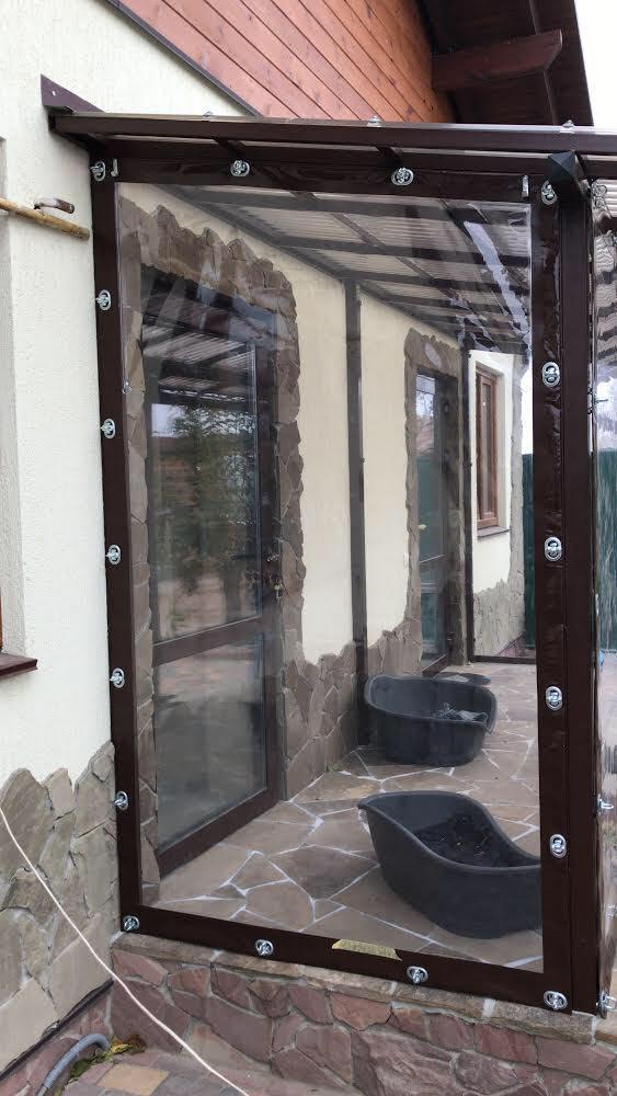 Гибкие окна для веранды в Каменке-Бугской