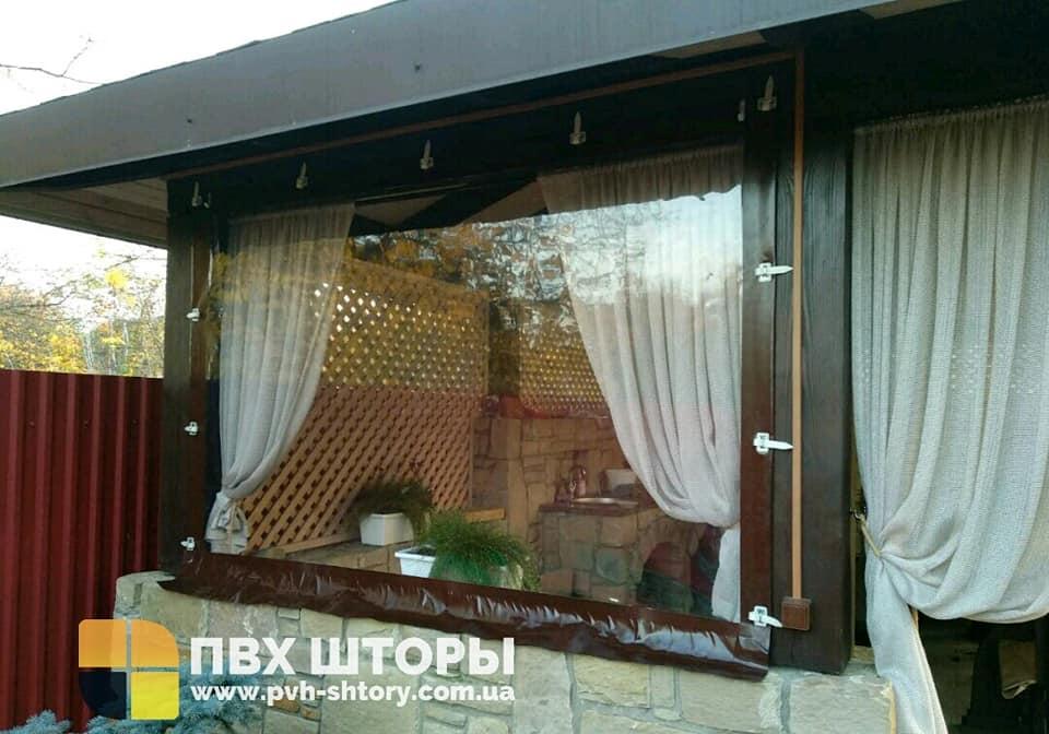 Брезентовые окна для беседки в Добромиле