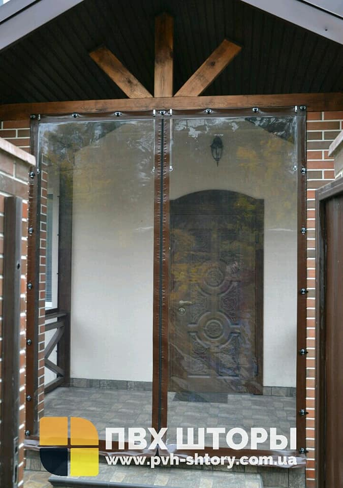 Гибкие окна для веранды в Бобрке