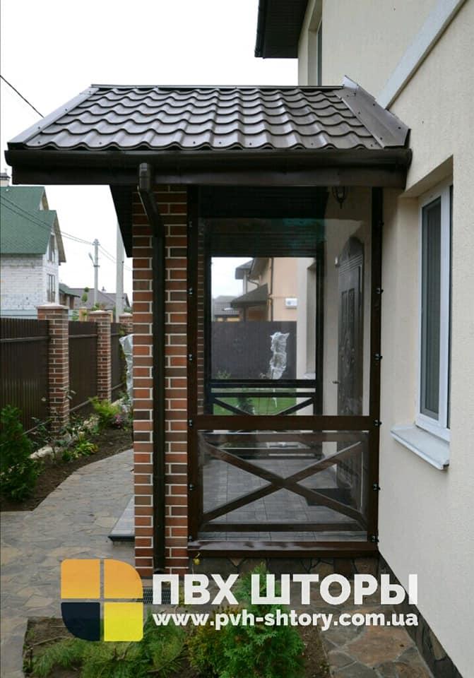 ПВХ шторы для веранды в Бобрке