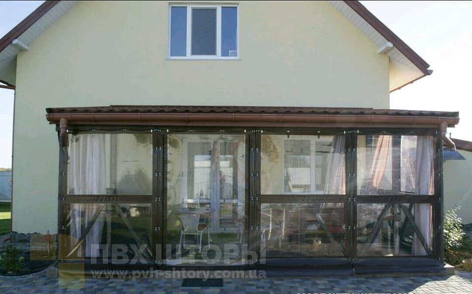 Пленочные окна для веранды в Белзе