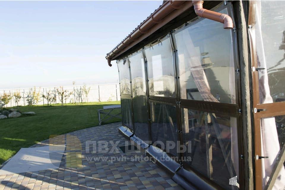 Гибкие окна для веранды в Белзе