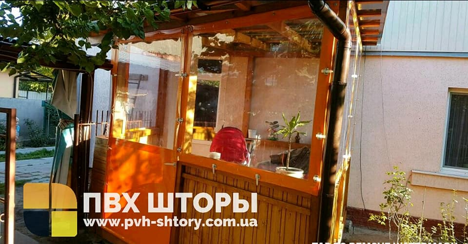 Гибкие окна для веранды в Лубнах