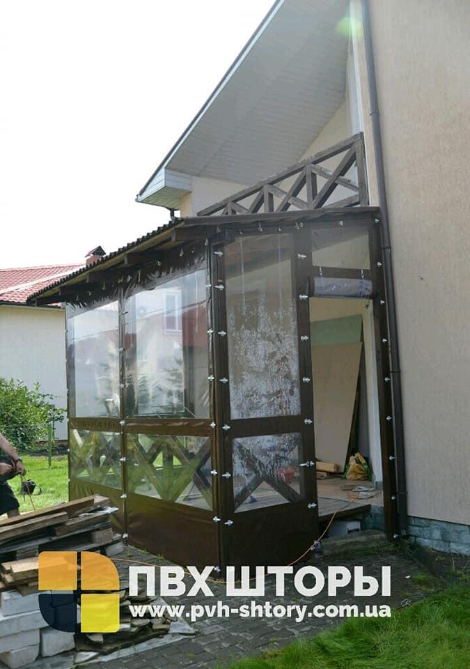 Гибкие окна для веранды в Лохвице