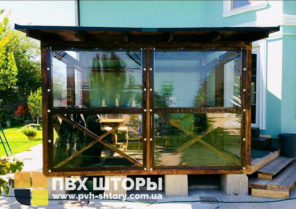 ПВХ шторы для беседки в Кобеляках